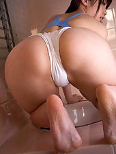 Hawt asian plump culo and big butt women